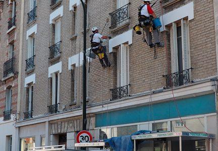 réfection linteaux fenêtres