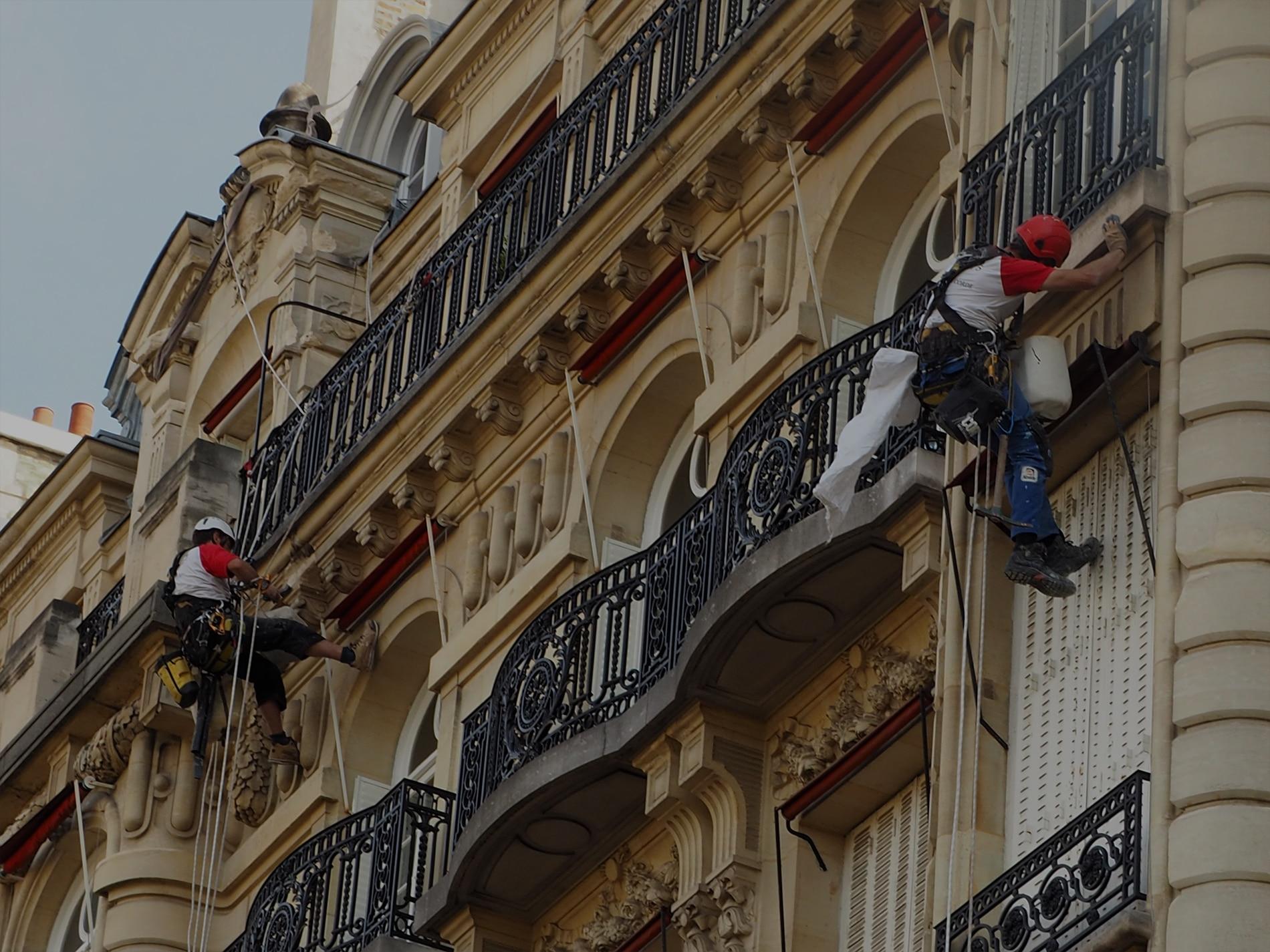 peinture sur immeuble